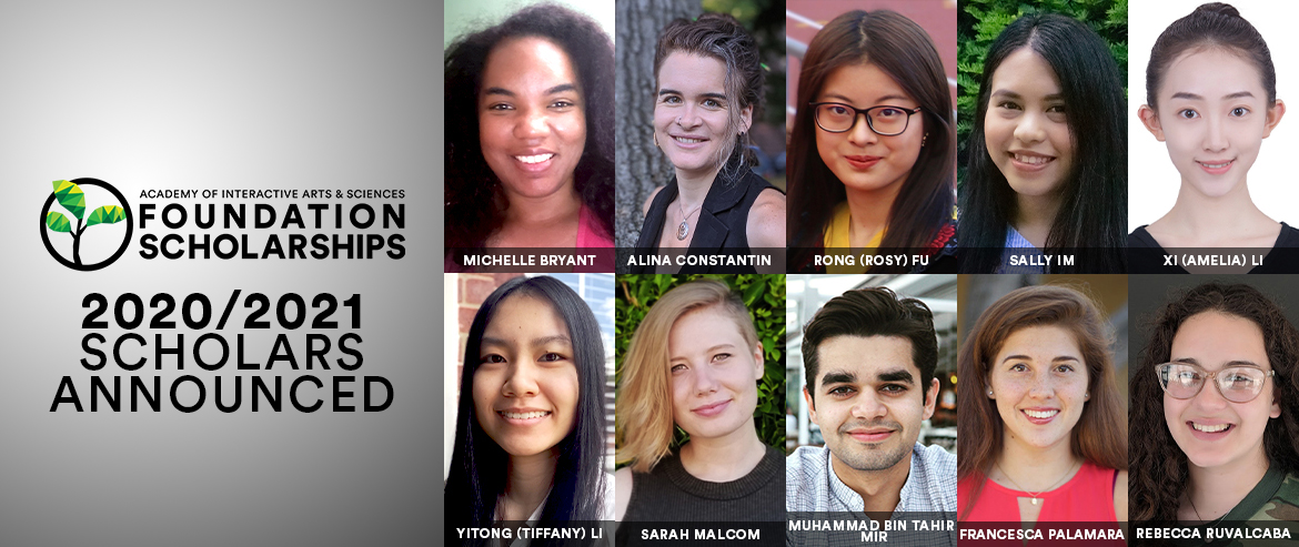 2020-2021 AIAS Foundation Scholars Announced